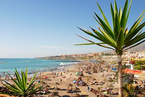 Fanabe Beach Adeje Tenerife, Canary Islands Spain