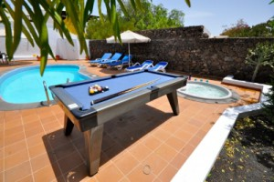 villa with air conditioning in lanzarote