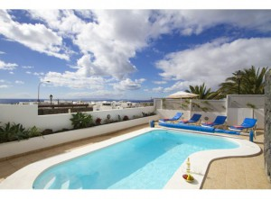villa with sea view lanzarote