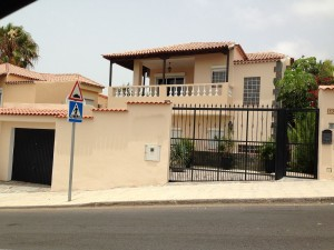 large villa for rent in costa adeje