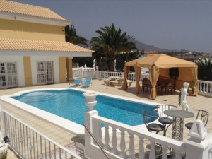 large villa to rent in callao salvaje tenerife