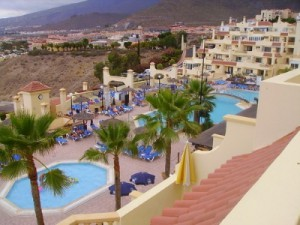 two bedroom apartment to rent on Andalucia Tenerife