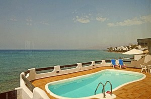 Villas for rent with sea view Puerto del Carmen
