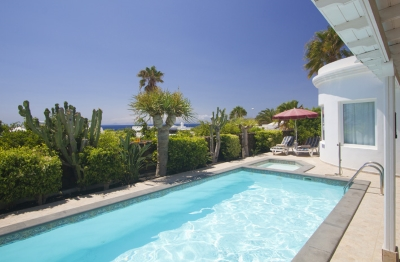 villa in puerto del carmen with sea views